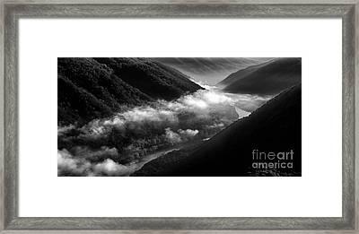 New River Gorge National River Framed Print