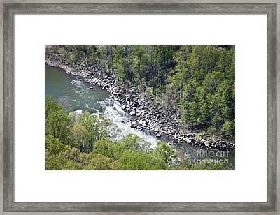New River Framed Print
