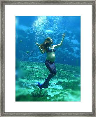 Mermaid Madonna Framed Print