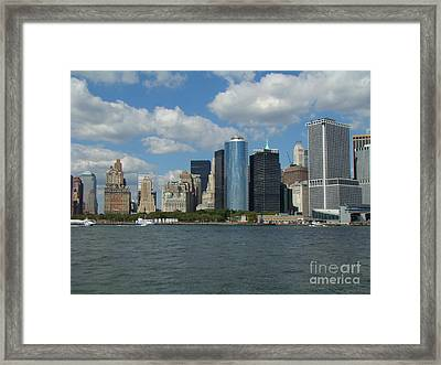 New York City Framed Print by Anthony Morretta