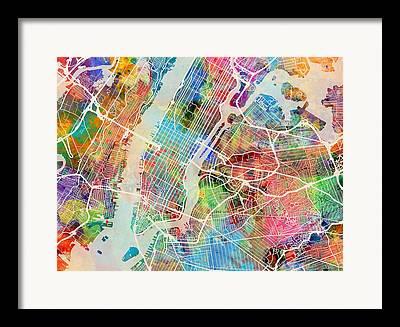 Bronx Framed Prints