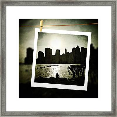 New York In June Framed Print