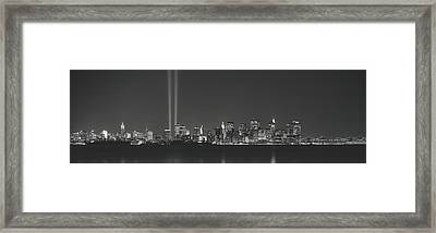 New York Ny Framed Print by Panoramic Images