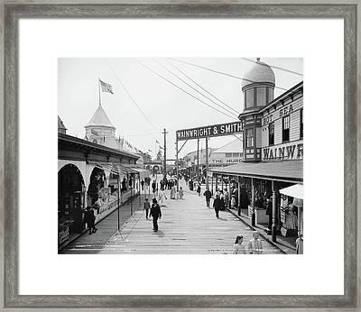 New York Rockaway, C1903 Framed Print
