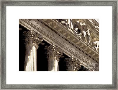 New York Stock Exchange Framed Print by Jon Neidert