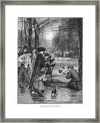 New York Union Square Framed Print by Granger