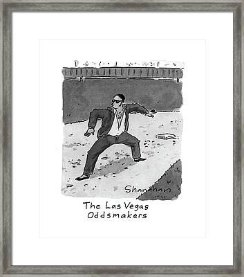 New Yorker April 5th, 1993 Framed Print by Danny Shanahan