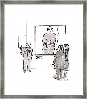 New Yorker December 7th, 1998 Framed Print