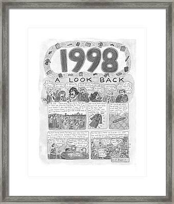 New Yorker December 7th, 1998 Framed Print