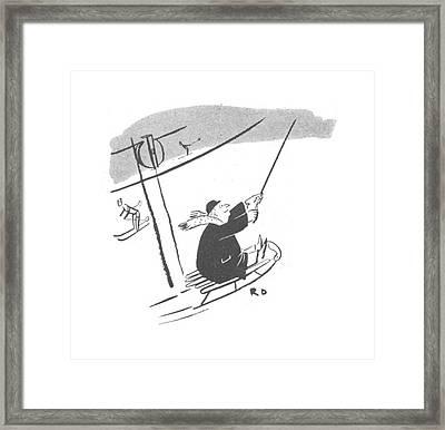New Yorker January 22nd, 1944 Framed Print