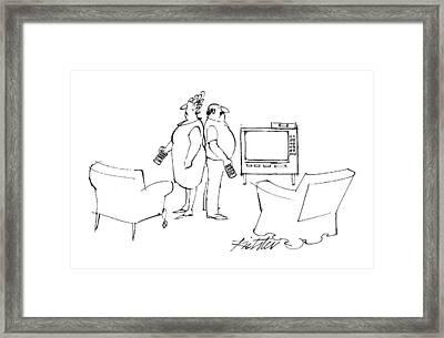 New Yorker June 6th, 1988 Framed Print