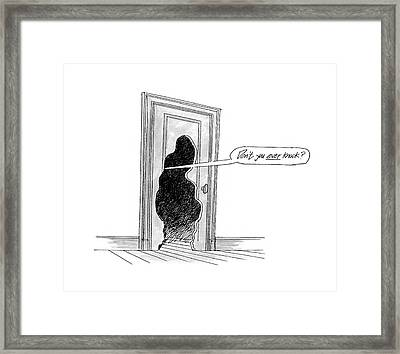 New Yorker October 12th, 1992 Framed Print by Kenneth Mahood