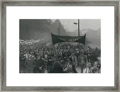 Newry March Passes Off Peacefully Framed Print by Retro Images Archive