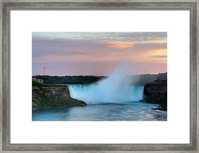 Niagara Falls Framed Print by Marek Poplawski