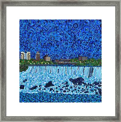 Niagara Falls Framed Print by Micah Mullen