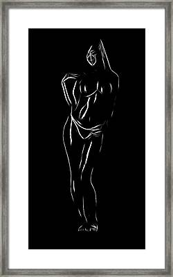 Nice Curves Framed Print