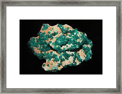 Nickel Ammonium Sulphate Framed Print by Dirk Wiersma