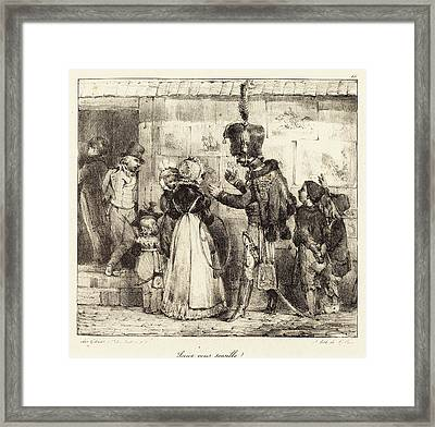 Nicolas-toussaint Charlet French, 1792 - 1845 Framed Print by Quint Lox