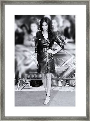 Nicole Scherzinger 3 Framed Print by Jez C Self