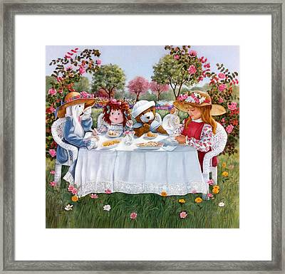 Nicole's Magic Tea Party Framed Print