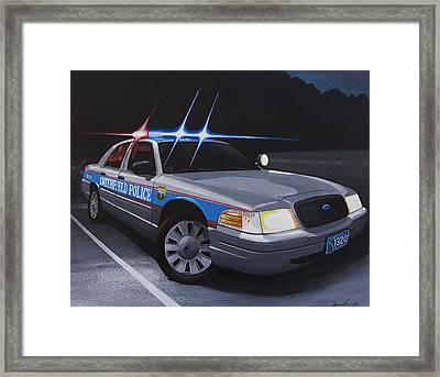 Night Patrol Framed Print by Robert VanNieuwenhuyze