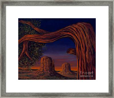 Night Sentinels Framed Print