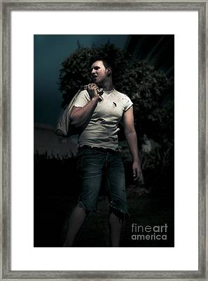 Night Wanderer Framed Print by Jorgo Photography - Wall Art Gallery
