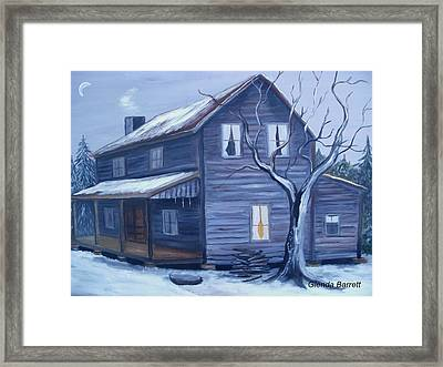 Nightfall Framed Print by Glenda Barrett