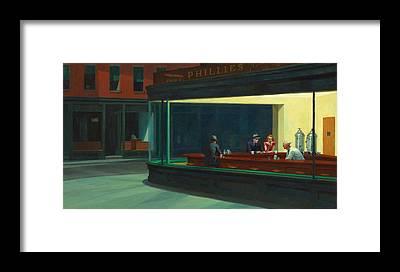 Hopper Framed Prints