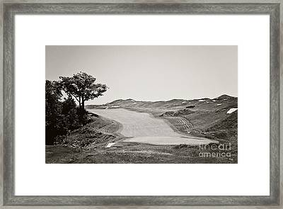Ninth Hole Framed Print by Scott Pellegrin