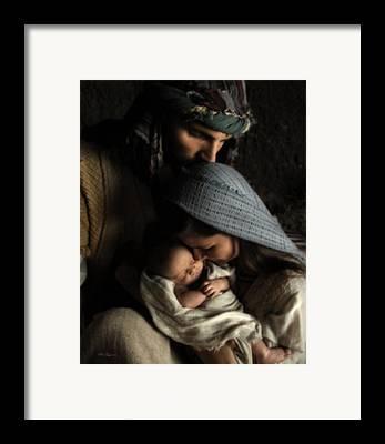 Jesus Photographs Framed Prints