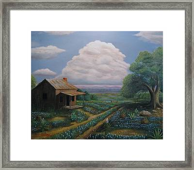 No Place Like Home Framed Print by Gene Gregory