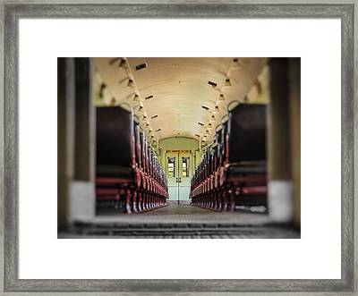 No Smoking Ride Framed Print