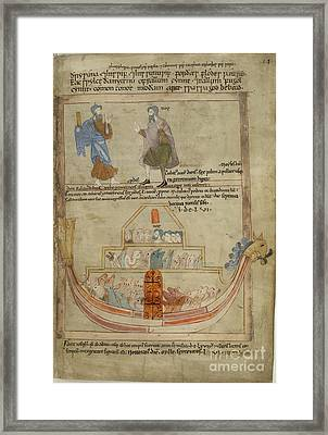 Noah's Ark Framed Print by British Library