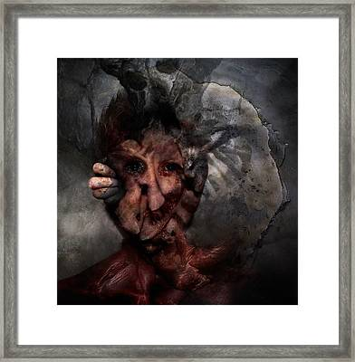 Nobody To Play With Framed Print by David Fox