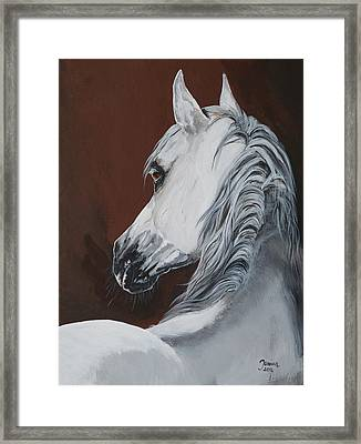 Norman Framed Print by Janina  Suuronen
