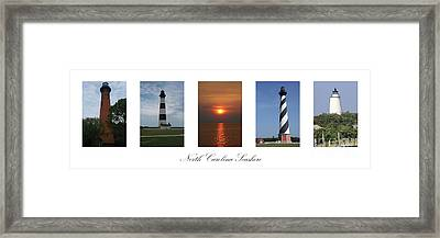 Framed Print featuring the photograph North Carolina Seashore by Tony Cooper