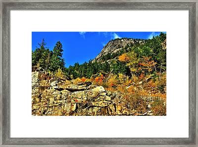 North Cascades  Framed Print