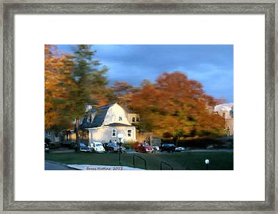 Northeastern Bible College Framed Print by Bruce Nutting