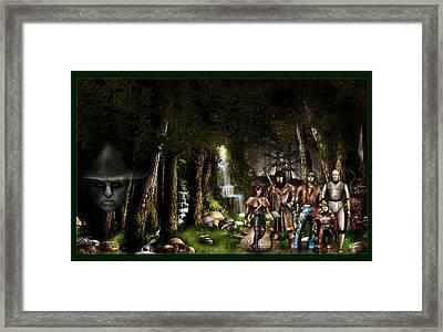 Northern Oz...3 Framed Print