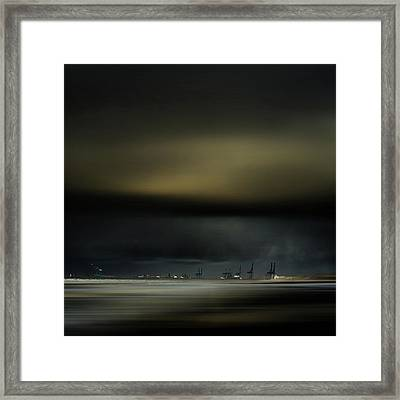Northern Wind Framed Print by Piet Flour