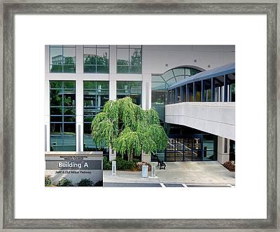 Northside Alpharetta Medical Campus A . Second View Framed Print