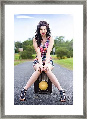 Nostalgic Beauty Framed Print by Jorgo Photography - Wall Art Gallery