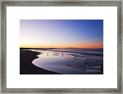 Nothing To Prove Framed Print by Nicole Doyle