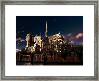 Notre Dame Paris Framed Print