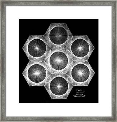 Nuclear Fusion Framed Print by Jason Padgett