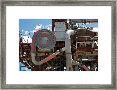 Nuclear-powered Jet Test Stand Framed Print by Jim West