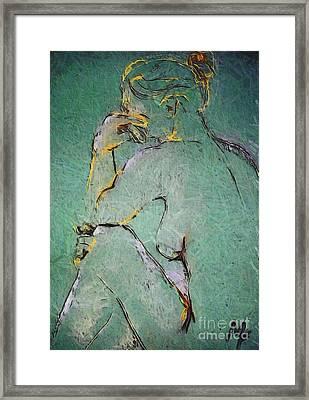 Nude IIi  Framed Print