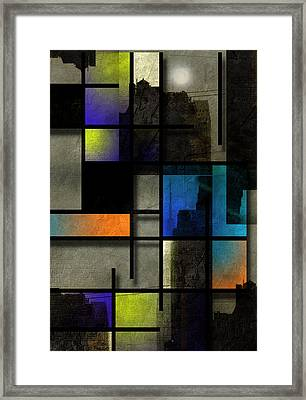 NYC Framed Print by Bruce Rolff