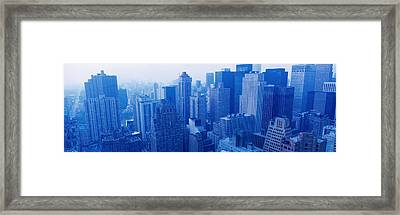 Nyc, New York City, New York State, Usa Framed Print